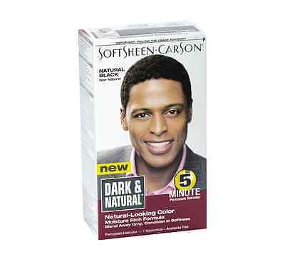 Dark and Natural 5 Minute Permanent Hair Color, Natural Black 1 ea