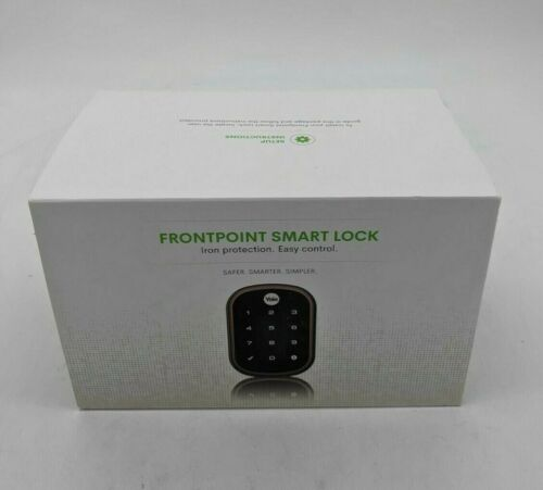 New Yale Frontpoint Smart Lock (Brass) - AW1157