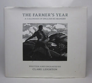 The Farmer's Year - Clare Leighton - HC/DJ