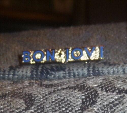 BON JOVI Metal Enamel Logo Vintage pin