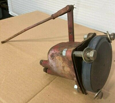 Farmall 560 Rowcrop Tractor Governor Assembly Linkage To Carburetor