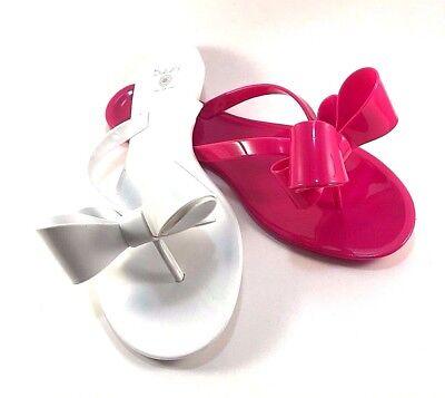 Dizzy Lounge Jelly Flat Thong Flip Flops Choose Sz Color