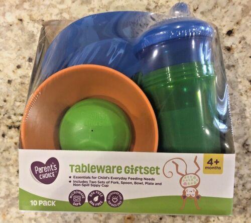 Parent Choice Tableware Set BPA FREE