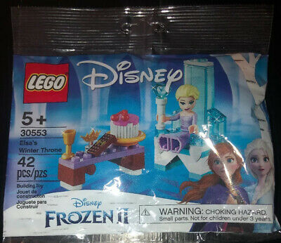 LEGO Disney Frozen 2 Polybag 30553 Elsa's Winter Throne Goblet Crown Minifig New