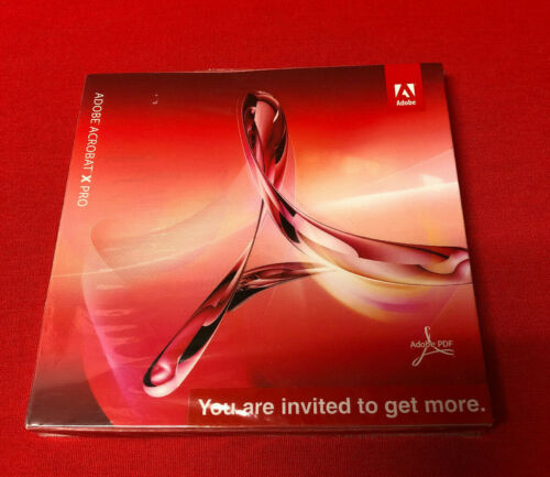 Adobe Acrobat X Professional for Windows