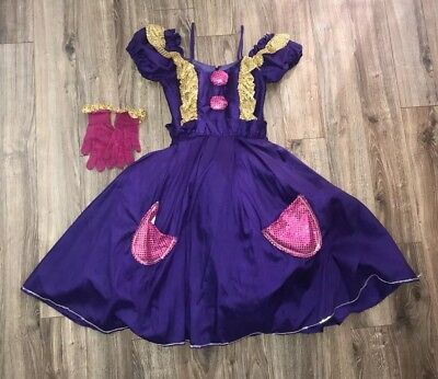 Women's Clown Costume Ladies it, Purple,Halloween XS