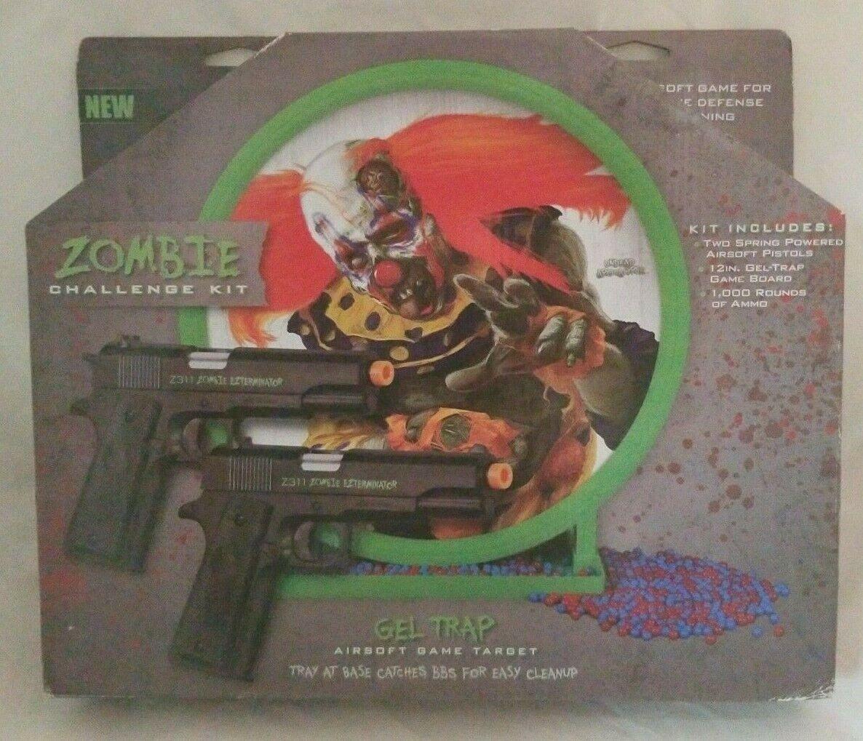 Crosman Zombie Challenge Kit Undead Apocalypse Airsoft Defen