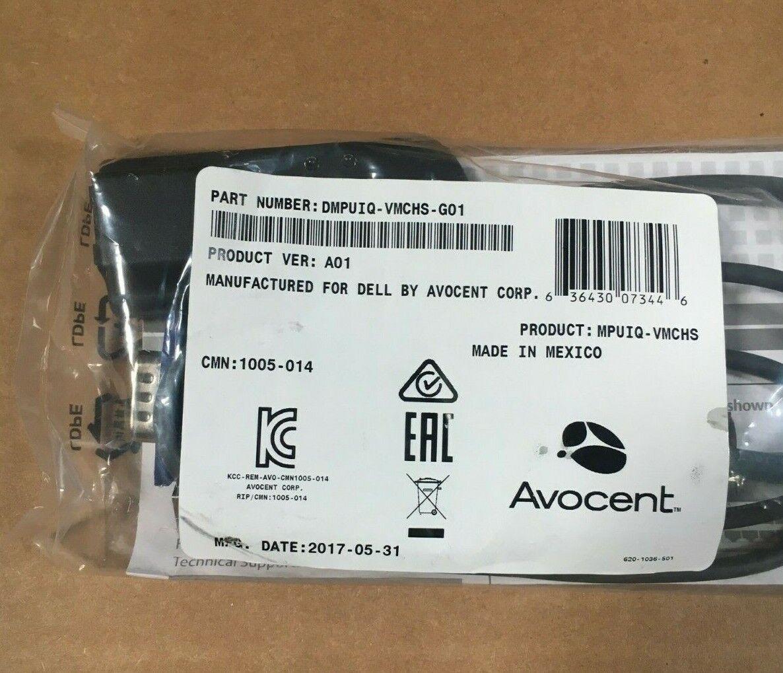 Dell Avocent DMPUIQ-VMCHS-G01 Server Interface Module KVM US