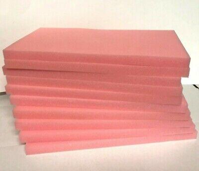 Lot Of 10 Anti Static Foam Electrical Shipping Packing Sheets 14.5 X 8 X 0.75