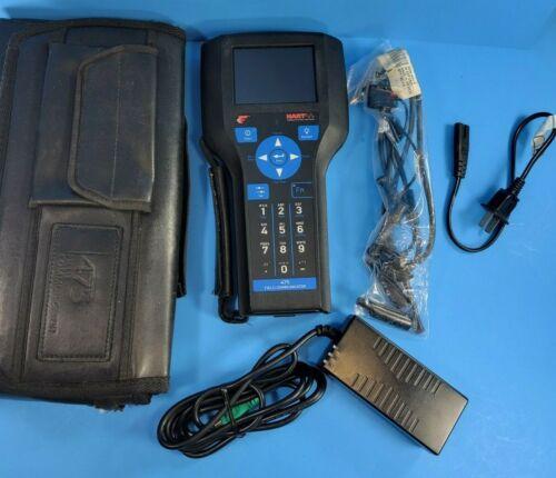 Emerson RoseMount HART 475 Field Communicator v 3.9 FieldBus Blutetooth Graphics