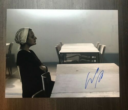 * ELISABETH MOSS * signed autographed 11x14 photo * THE HANDMAID'S TALE * 1