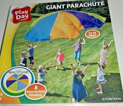 """Giant Parachute 12 ft in Dia. Made by """"Play Day"""""""
