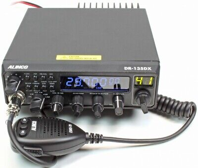 CB HAM SIDE BAND Radio Alinco DR135 DX 10 11m AM FM...