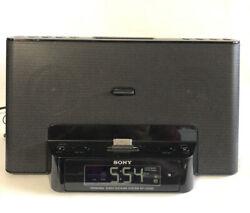 Sony iPad/iPod/Phone Personal Audio Docking System ICF-CS15iP Clock/Radio