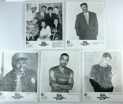 The Steve Harvey Show 1997 Series Photo Cast Steve Harvey Cedric The Entertainer