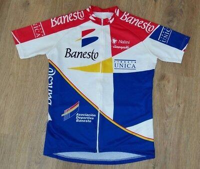 Banesto Nalini Campagnolo full zip rare vintage cycling jersey size 6 (XXL) 2f5588bf0