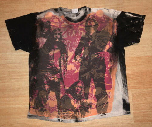 VTG 90s Mosquitohead T Shirt Black Sabbath Iron Maiden Ozzy Pink Floyd