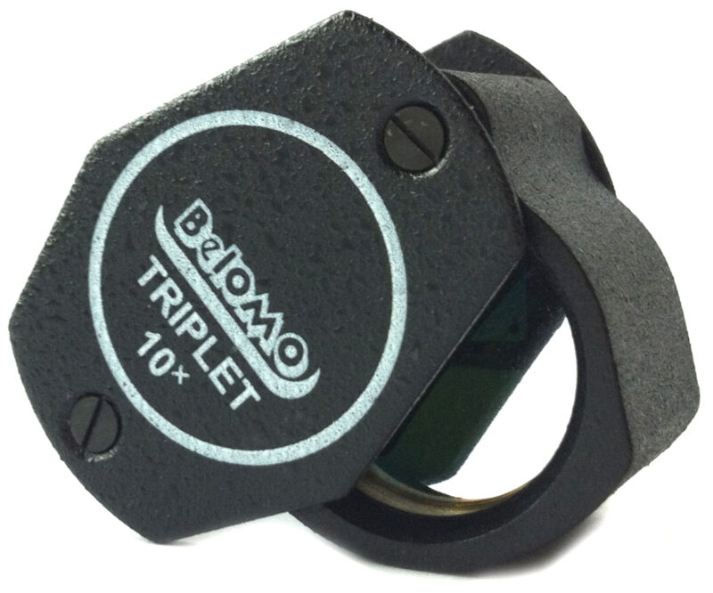 """BelOMO 10x Triplet Loupe Magnifier. 21mm (.85"""") Jewelry Instrument. US Edition"""