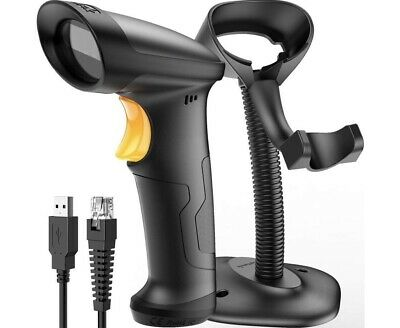 Barcode Scanner Corded With Stand New