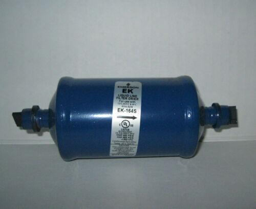"Lot of 9 Emerson EK-164S Liquid Line Filters - Drier 1/2"" ODF Solder PCN 047616"