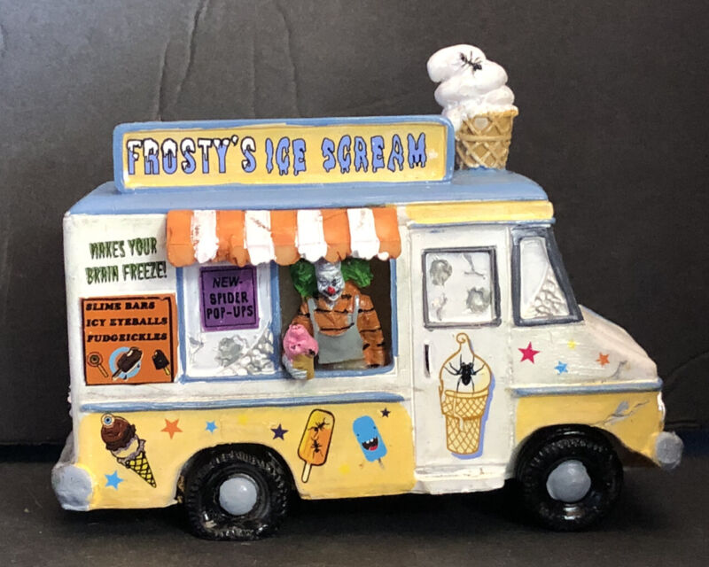 """2012 LEMAX  SPOOKY TOWN COLLECTION #23943 """"FROSTYS ICE SCREAM TRUCK"""