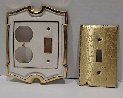 2003 LHMC Brass Outlet Plate Cover