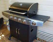 Ranger 4 Burner BBQ with Side Burner Mount Colah Hornsby Area Preview