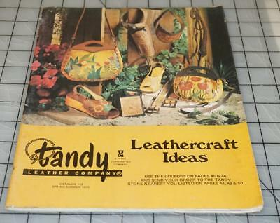 Vintage 70's TANDY LEATHER Company Leathercraft Ideas Supplies Catalog No. 112 (Catalog Party Ideas)