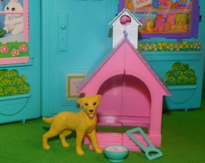Barbie Kennel Care Vet Playset Dog House Pet Toys Dollhouse Furniture Lot New