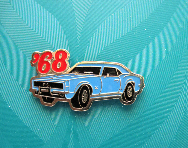 68 1968 CAMARO  RS  coupe - hat pin , lapel  pin , tie tac , hatpin GIFT BOXED