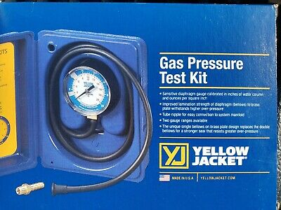 Gas Pressure Test Kit 0-35 78060 Ritchie Yellow Jacket