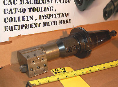 Fitz-rite Cat 50 Taper - 1 14 End Mill 4 1.25 Turning Tool Holder