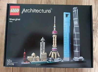 Lego Architecture - Shanghai - 21039 - New & Sealed - Free Uk Postage