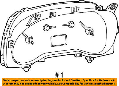 Ram CHRYSLER OEM ProMaster City INSTRUMENT PANEL-Cluster Assembly 68316365AA
