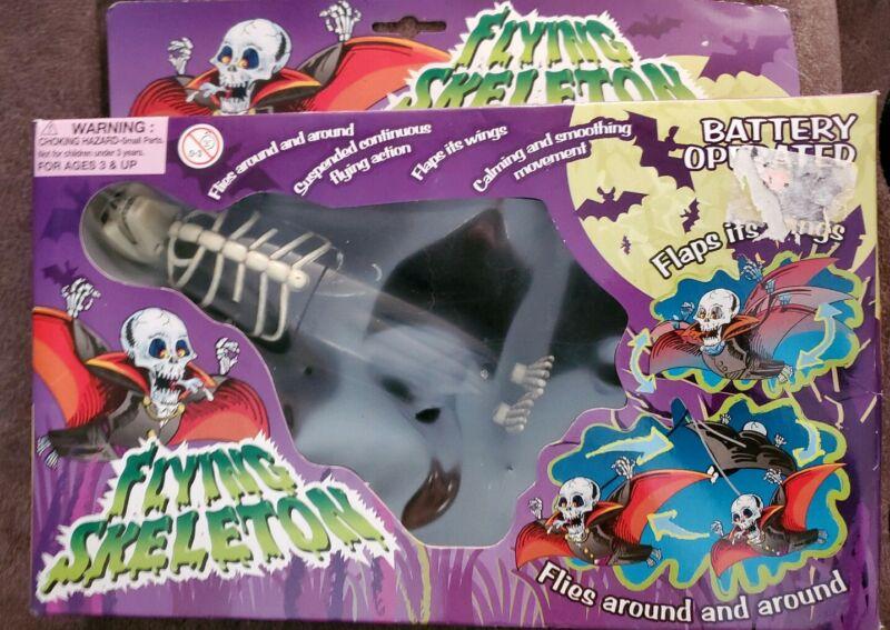 Battery Operated Flying Skeleton