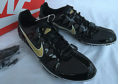 cheap for discount d7841 a0aed Nike Zoom Rival S 6 Gold 456812-071 Track Spikes Running Shoes Men s 11.5  new