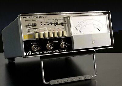 Marconi Tf-2304 Fmam Modulation Meter