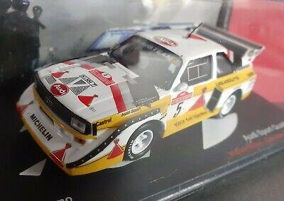 iXO / Altaya 1/43 1985 WRC AUDI QUATTRO SPORT E2 - Walter Rohrl Rallye Sanremo