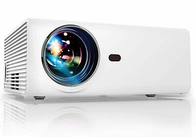 Full HD 1080P 5500 Lumens Portable Home Theater Movie Video Projector HDMI USB