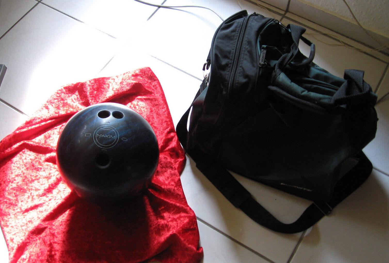 Bowlingkugel - Bowling Ball - Ebonite Maxim inkl. Tragetasche 5,4 Kg