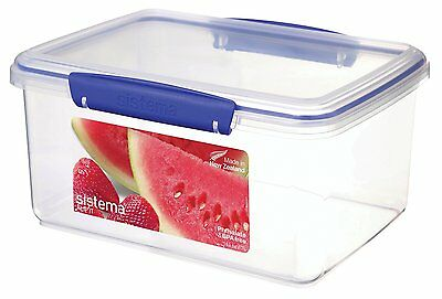 Sistema Klip It Collection Rectangle Food Storage Container, 101 Ounce/12.6 Cup