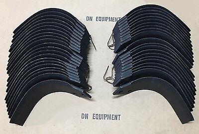 Agric Tiller Tines Full Set For 70 Afmj Series 04503303 04503400 Oem Quality