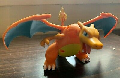 Pokemon Charizard Poseable Collectible Action Figure Large Model Toy Mega Fire