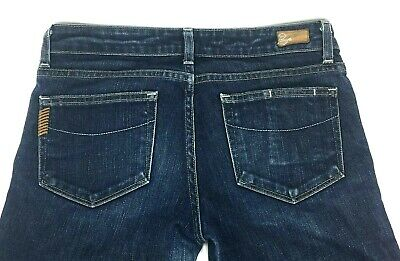 Paige Premium Denim Blue Heights Women's Dark Wash Jeans Size 30 - Paige Premium Denim Blue Jeans