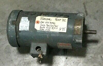 Baldor 12 Hp Dc Motor Cd3450 1750 Rpm Volts 90a 10050f Amps 5.2.51