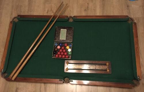 Tom Newman Vintage Billards Pool Table Top Table