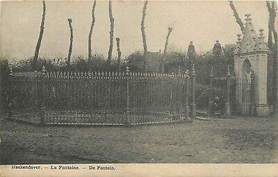 Zeer zeldzame oude postkaart, DE FONTEIN VAN HAEKENDOVER (PK566)