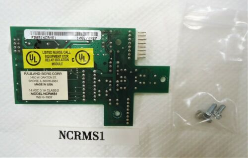 RAULAND NCRMS1 RESPONDER IV CONTROL BOARD--EXCELLENT USED