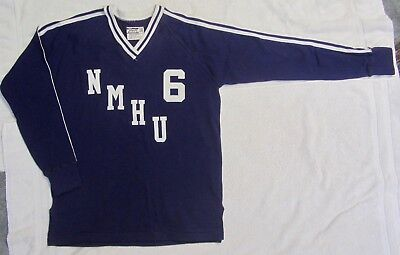 New RARE Vtg 1980 NEW MEXICO HIGHLANDS UNIVERSITY Volleyball Jersey LAS VEGAS NM