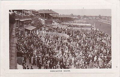 Crowded Scene At The Races, DONCASTER, Yorkshire RP